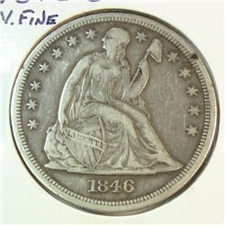 1846O Seated $   VF