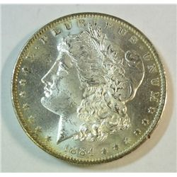 1884O Morgan $  MS62