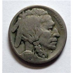 1921S Buffalo nickel  VG