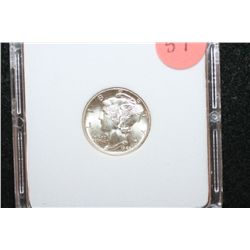 1943-S Mercury Dime, MCPCG Graded MS66