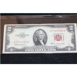 1953-C United States Note $2, Red Seal