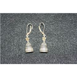 Texas Capital Hanging Earrings