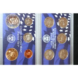 2001-S US Mint Proof Set W/State Quarter Proof Set