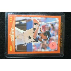 1988 MLB Craig Biggio-Astros Rookie Baseball Card