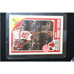 1989 Fleer NBA Michael Jordan-Chicago Bulls Basketball Card
