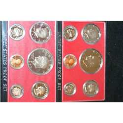 1976-S US Mint Proof Set & 1977-S US Mint Proof Set