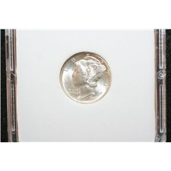 1941-D Mercury Dime, MCPCG Graded MS67