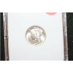 1944-D Mercury Dime, MCPCG Graded MS66