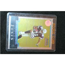 2004 Topps NFL Julius Jones-Dallas Cowboys Rookie Football Card