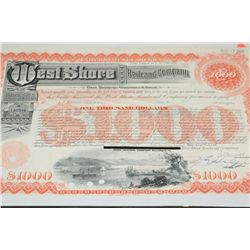 West Shore Railroad Co. First Mortgage Guaranteed Bond Dated 1969