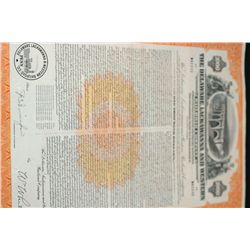 The Delaware, Lackawanna and Western Railroad Co. Collateral Trust Bond Dated 1980
