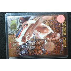 1996 Fleer NBA Jerry Stackhouse-Philadelphia 76ers Rookie Basketball Card