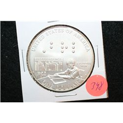 2009-P US Louis Braille Commerative $1 Coin