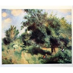 Limited Edition Renoir- Unknown - Collection Domaine Renoir