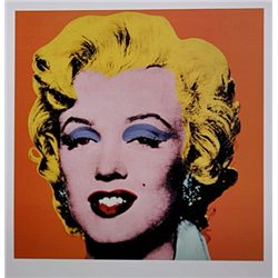 Shot Orange Marilyn by Andy Warhol