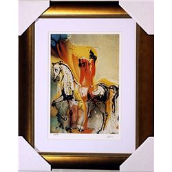 Salvador Dali Signed Limited Edition -  Christian Knight