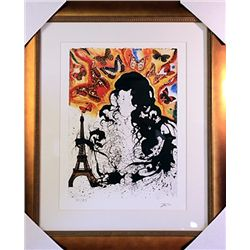 Salvador Dali Signed Limited Edition - Paris