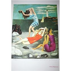 Limited Edition Picasso - The Bathers - Collection Domaine Picasso