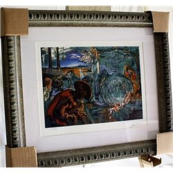 Salvador Dali Signed Limited Edition - Nativity Of A New World