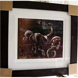 Salvador Dali Signed Limited Edition - Debris Of An Automobile