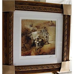 Salvador Dali Signed Limited Edition - The Great Paranoiac