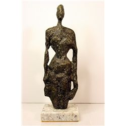 Alberto Giacometti  Original, limited Edition  Bronze - FEMME