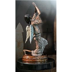 Angel of Prayer - Limited Edition Bronze by Sergey