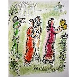 The Festival by Chagall from the Odyssey Suite.