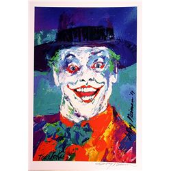 Leroy Neiman Double Signed Lithograph - The Joker-