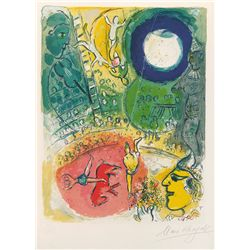 Le CirQue 5- Chagall - Limited Edition on Canvas