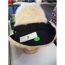 Vintage Fur Hat by Christian Dior