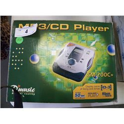 MP3/CD Player in Box