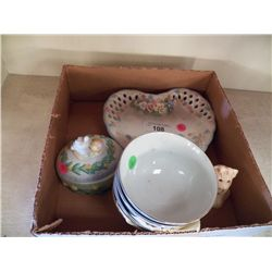 Misc, Lot of Decorative Items & Bowls
