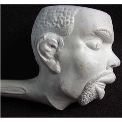 Early Clay Pipe depicting the head of Southern Slave