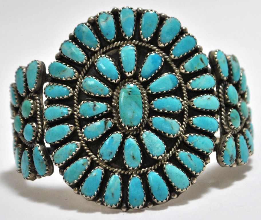 silver vintage american native indian bracelet jewelry guild navajo s shop art hoel turquoise