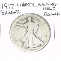 1917 Liberty Walking SILVER Half Dollar *PLEASE LOOK AT PICTURE TO DETERMINE GRADE - NICE COIN*!!