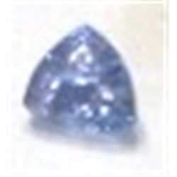 .60 ct OVER 1/2 Carat Natural Tanzanite Trillion Cut & Faceted!!