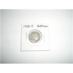 1928-D Buffalo Nickel *PLEASE LOOK AT PICTURE TO DETERMINE GRADE*!!