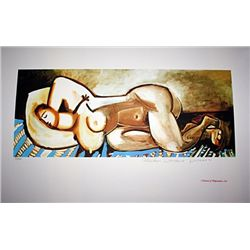 Limited Edition Picasso - Sleeping Nude - Collection Domaine Picasso