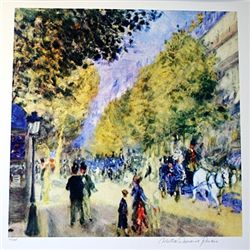 Limited Edition Renoir- Grand Boulevards - Collection Domaine Renoir