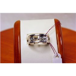 Lady's Tiffany & Co. DATED 1837 Sterling Silver Ring
