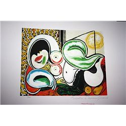 Limited Edition Picasso - Reclining Nude with Sun - Collection Domaine Picasso