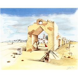 Village - Dali - Limited Edition on Canvas