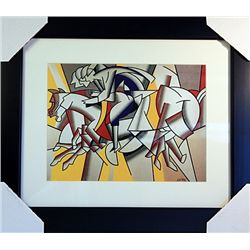 Roy Lichtenstein Limited Edition-RED HORSEMAN