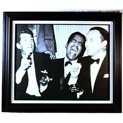 Giclee Giclee on Canvas of the RAT PACK