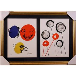 Calder Limited Edition Lithographs Set