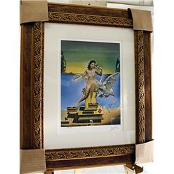 Salvador Dali Signed Limited Edition - Leda Atomica