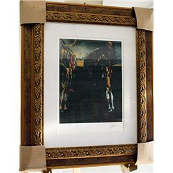 Salvador Dali Signed Limited Edition - Palladio's Thalia