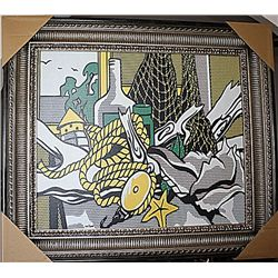 Lichtenstein Limited Edition  Still Life with Net, Shell, Rope and Pulley 