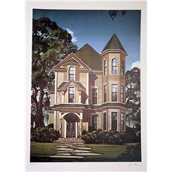 David Mann Signed and Numbered Lithograph - Gothic House